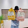 Стильный тканевый рюкзак с Ведмежонком, фото 5