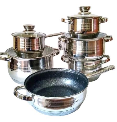 Набор посуды Bohmann BH-1234 MRB