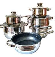 Набор посуды Bohmann BH-1234 MRB, фото 1