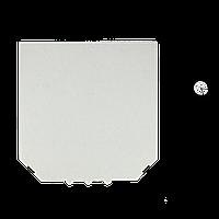 Коробка для пиццы, 25 см белая, 250*250*35, мм (1уп/50шт), фото 1