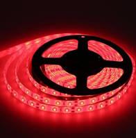 Светодиодная лента красная LED 3528 красная 60RW