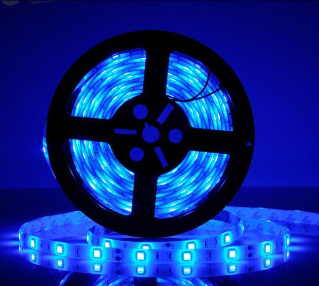 Светодиодная LED лента 5050 Синяя