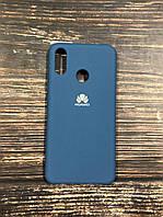"Чехол Silicon Huawei P 20  - ""Синий кобальт №20"""