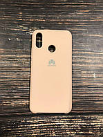 "Чехол Silicon Huawei P 20  - ""Пудра №19"""
