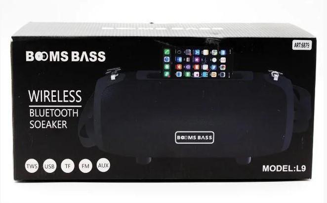 Портативная Bluetooth колонка BOOMS BASS L9