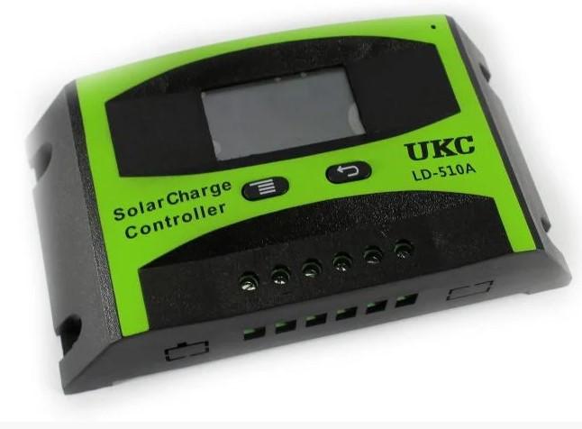 Контролер для сонячної панелі Solar controler LD-510A 10A Ukc