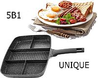 Сковорода UNIQUE UN-4021 5в1 31см, фото 1
