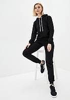 Спортивный костюм женский худи+штаны черный