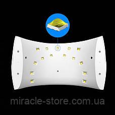 LED лампа Sun 9S 24 ватт для маникюра и педикюра, фото 2