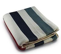 Электропростынь с сумкой electric blanket 150*120 разноцветные полоски