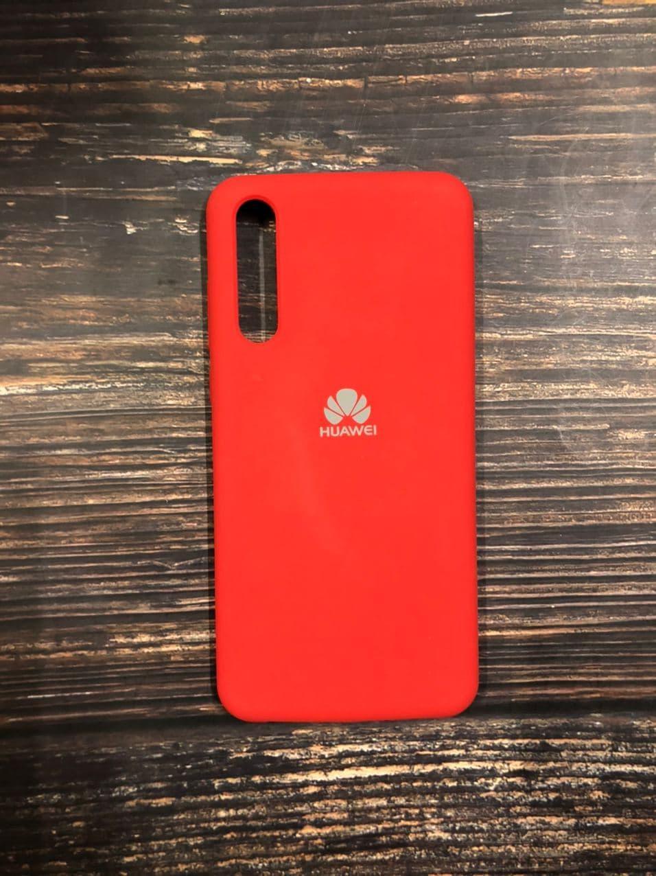 "Чехол Silicon Huawei P 20 Pro  - ""Темно-терракотовый №14"""