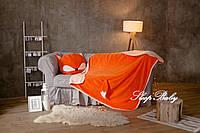 Плед детский «Лиса» с подушкой
