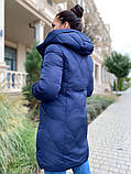 Женская зимняя куртка плащевка холлофайбер очень теплая размер: 48,50,52,54,56,58, фото 2