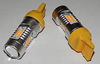 Автомобильные светодиоды WY21W (21-SMD)(3535)(Желтый)