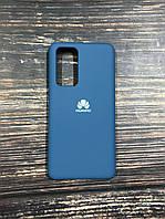"Чехол Silicon Huawei P 40  - ""Синий кобальт №20"""