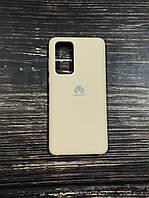 "Чехол Silicon Huawei P 40  - ""Пудра №19"""