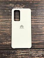 """Чехол Silicon Huawei P 40  - """"Белый №9"""""""