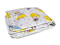 Одеяло детское шерстяное Тёплое  105х140 см Leleka-Textile  сезон Осень-Зима