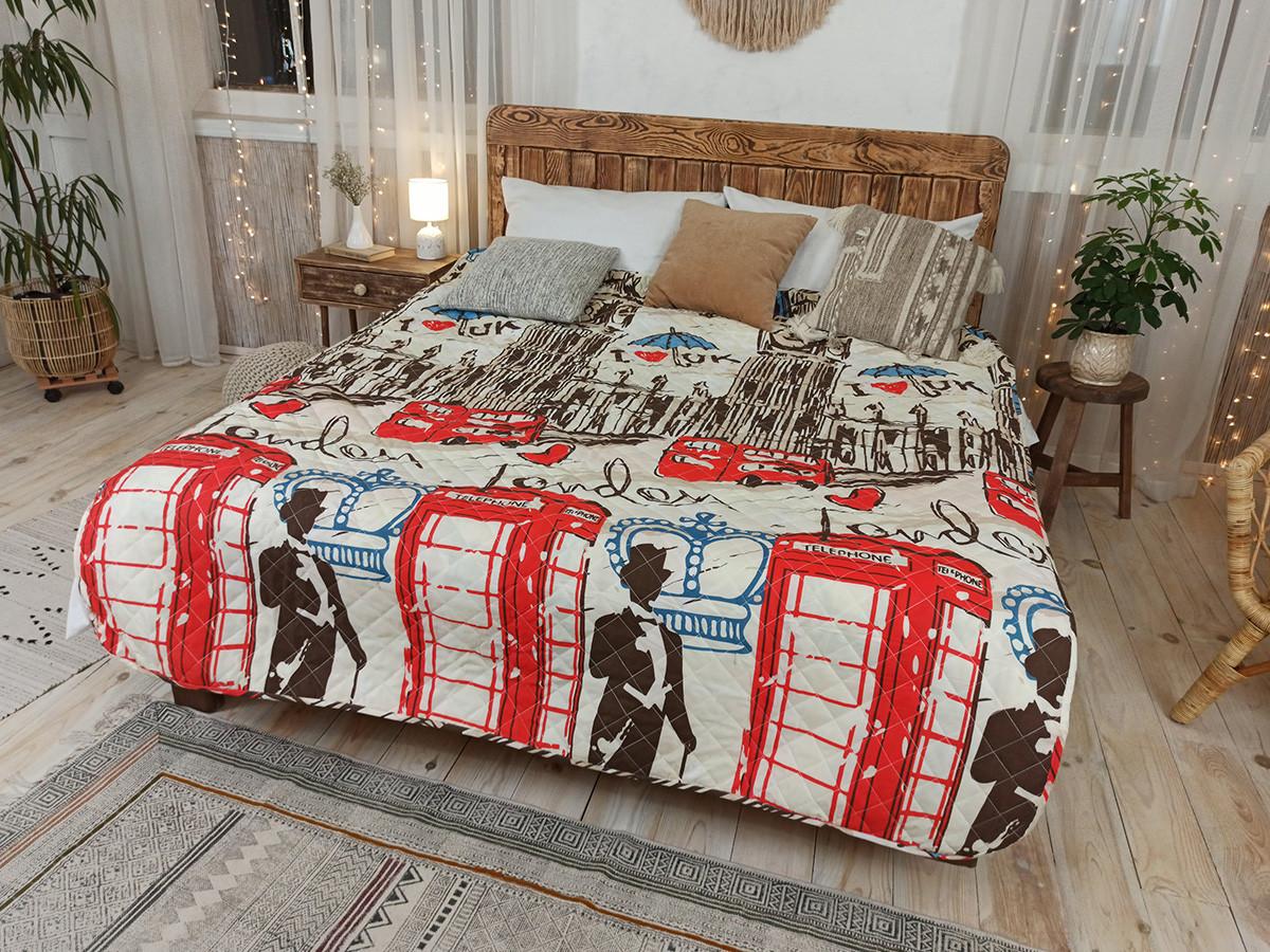 Одеяло-Покрывало полиэстер П-794 Leleka-Textile 200х220 цветной Лето