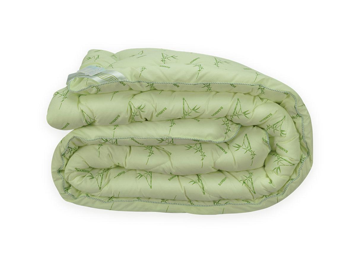 Ковдра Бамбук полуторне Leleka - Textile 145х210 см осінь-зима Полуторна ковдра