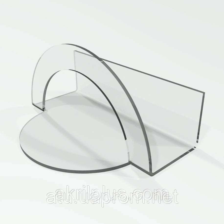 Салфетница прозрачная из оргстекла