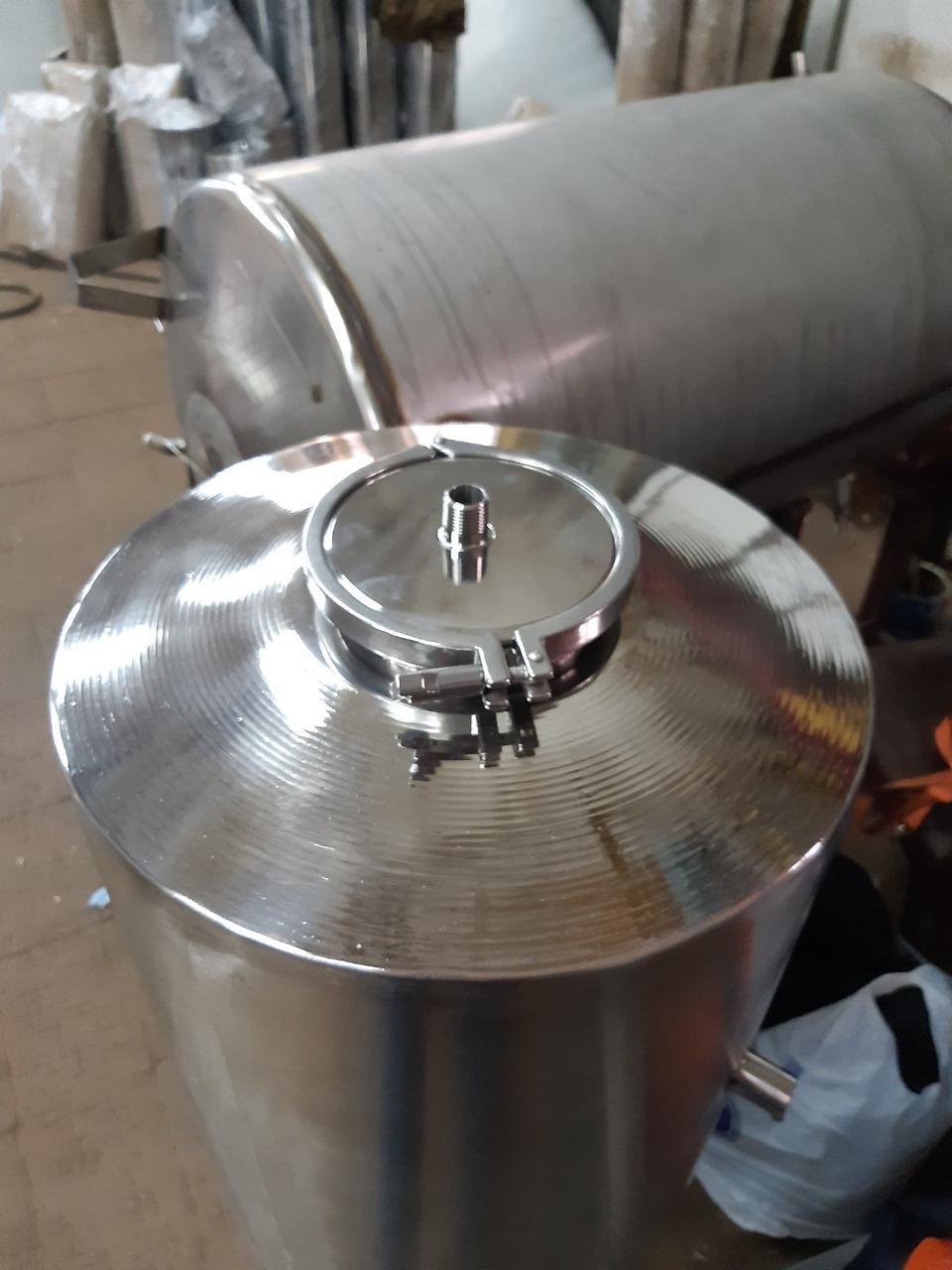 Емкость из нержавеющей   для брожения | ЦКТ 540 л. (ZKT-540)