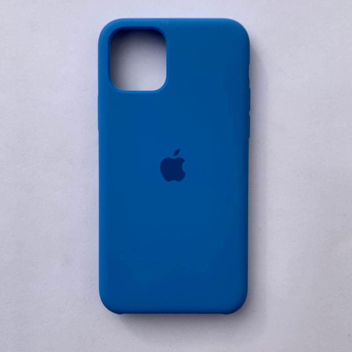 Чехол Silicone Case для Apple iPhone 11 Pro Max Blue Cobalt