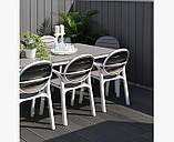 Комплект  Step 60,5см +2.крісла Palma NARDI bianco tortora, фото 5