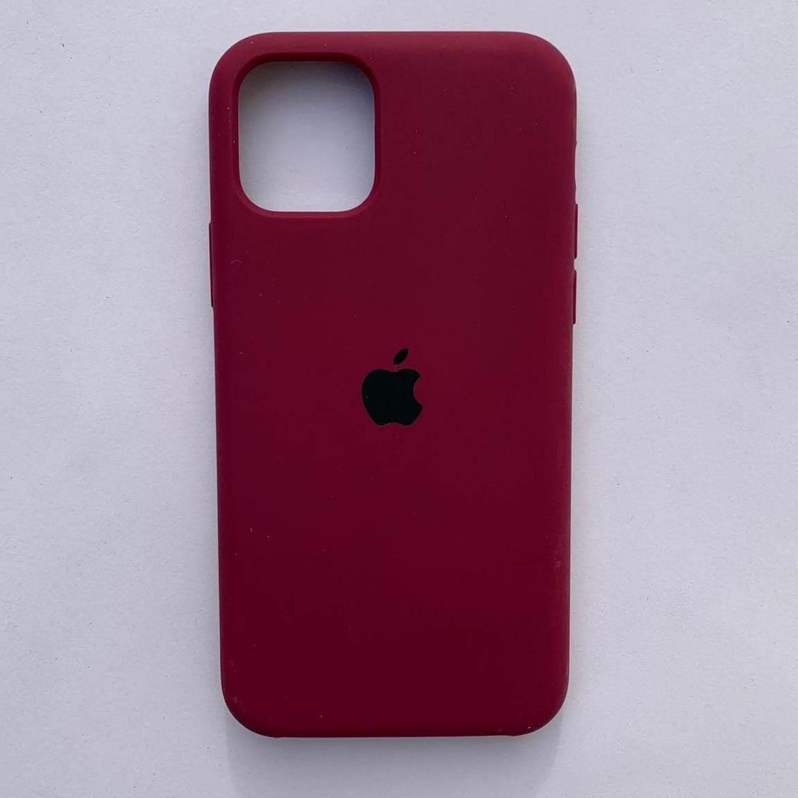 Чехол Silicone Case для Apple iPhone 11 Pro Max Cherry
