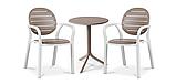 Комплект  Step 60,5см +2.крісла Palma NARDI bianco tortora, фото 2