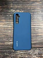 "Чехол Realme 6 Pro - ""Синий кобальт №20"" Silicon Case"