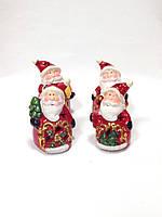 Дед Мороз, новогодняя фигурка,10х6 см, сувенир, светодиодный, Днепропетровск