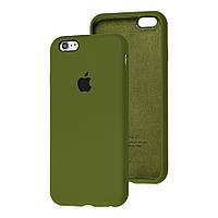 Чехол Silicone Case Full для iPhone SE2 /SE 2020 virid