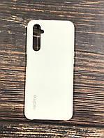 """Чехол Realme 6 - """"Белый№9"""" Silicon Case"""