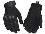 Перчатки Tactical assault черный и олива + складной ПОДАРОК АК47, фото 5