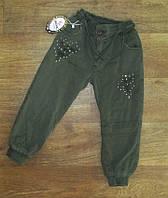 Джоггеры (джинсы) для девочки турецкие, на меху, детский турецкий трикотаж от производителя, детская одежда