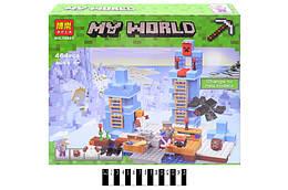 """Конструктор """"Minecraft"""" 460дет. в кор. 37,5*35*7,5 см. /24/"""