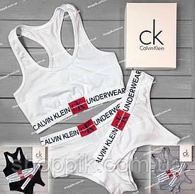 Комплект женского белья Calvin Klein Monogram Реплика