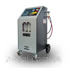 Установка для заправки автокондиционеров полуавтоматическая R134 GrunBaum AC3000N