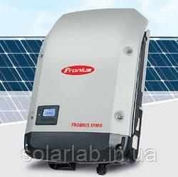 Инвертор сетевой для солнечных панелей Fronius SYMO 25.0-3-M (25 кВт, 3 Фазы /2 трекера + мониторинг)