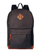 Стильный тканевый рюкзак с уплотненным дном для школы, фото 3
