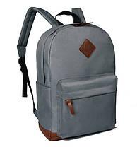 Стильный тканевый рюкзак с уплотненным дном для школы, фото 2