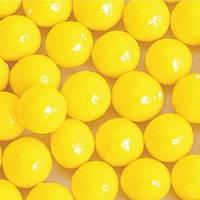Стік-пакет кульки цукр d=10мм глянцеві (9шт), жовті