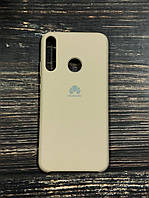 "Чехол Silicon Huawei Y7P  - ""Пудра №19"""