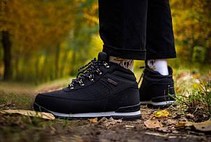 Мужские ботинки Timberland Keep Warm Black (Реплика), фото 2