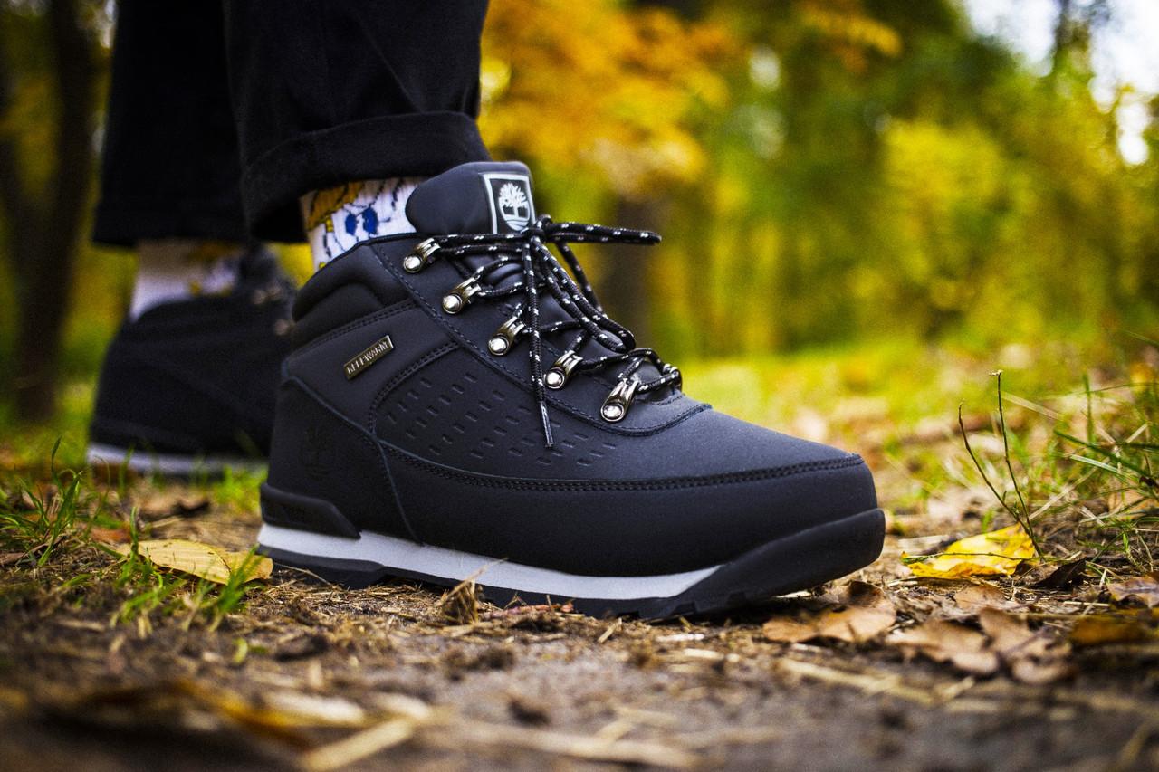 Мужские ботинки Timberland Keep Warm Black (Реплика)