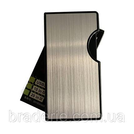 Портсигар с USB зажигалкой HL-154 10 сигарет, фото 2