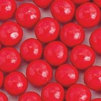 Стік-пакет кульки цукр d=10мм глянцеві (9шт), коралові
