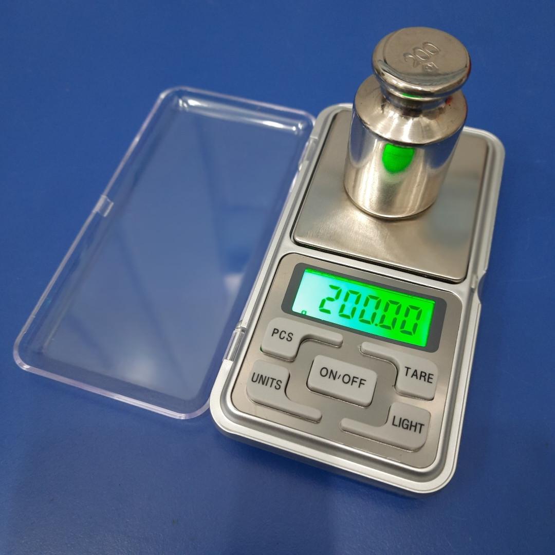 Ювелірні кишенькові ваги MH-200 до 200 грам