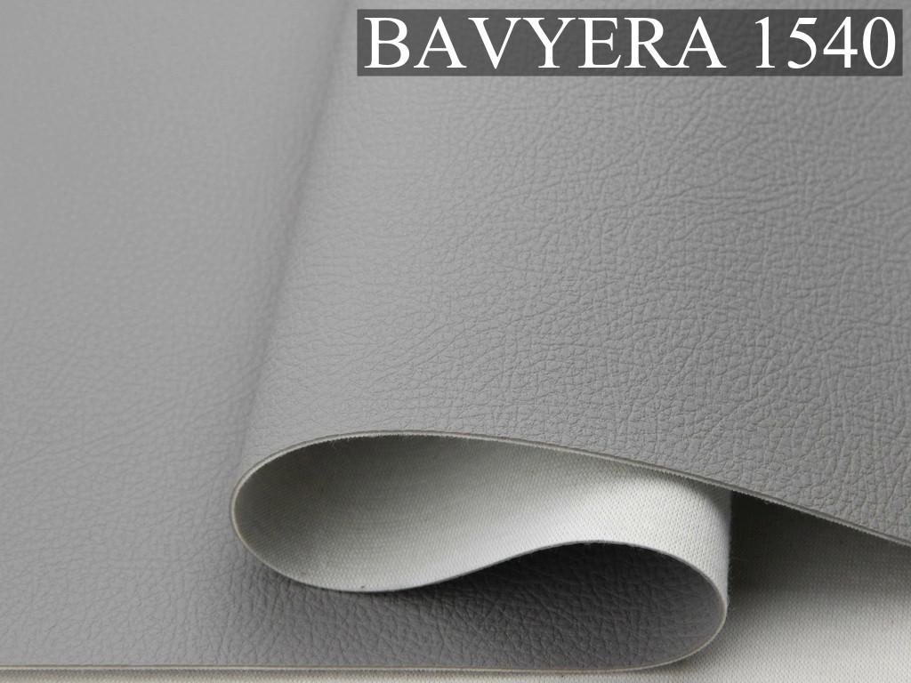 Автомобльний кожзам BAVYERA 1540 серый, тканевой основе (ширина 1,40м) Турция